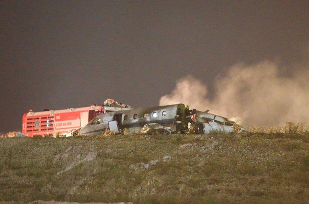 Atatürk Havalimanı'nda özel bir jet düştü