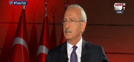 Kemal Kılıçdaroğlu'ndan Habertürk TV'ye açıklamalar