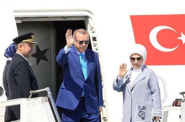 Cumhurbaşkanı Recep Tayyip Erdoğan ABD'den ayrıldı