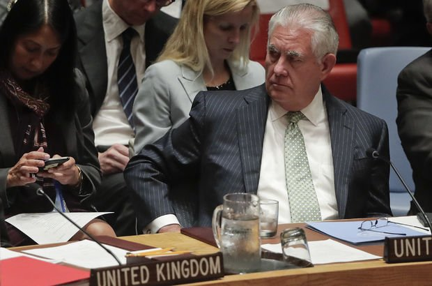 ABD Dışişleri Bakanı Rex Tillerson'dan nükleer silah çağrısı!