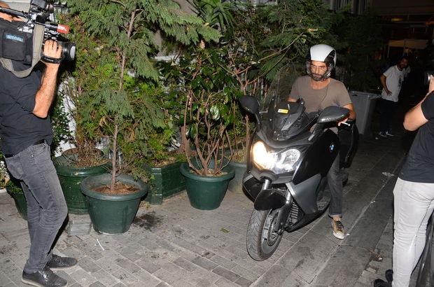 Motosikletiyle gecelerde