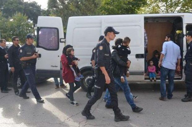 Kırklareli'nde 71 kaçak ve sığınmacı yakalandı