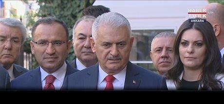 Başbakan Binali Yıldırım'dan K. Irak'ta referandum kararına ilişkin açıklama