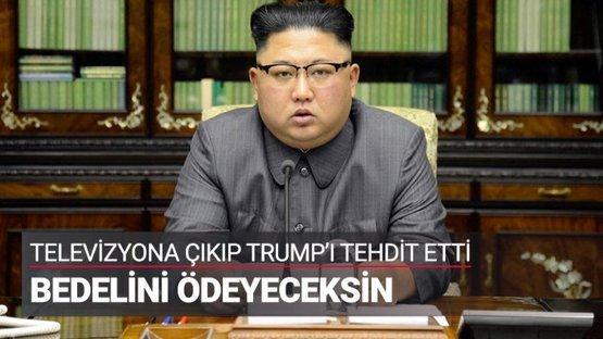 Kim Jong-un'dan sert sözler