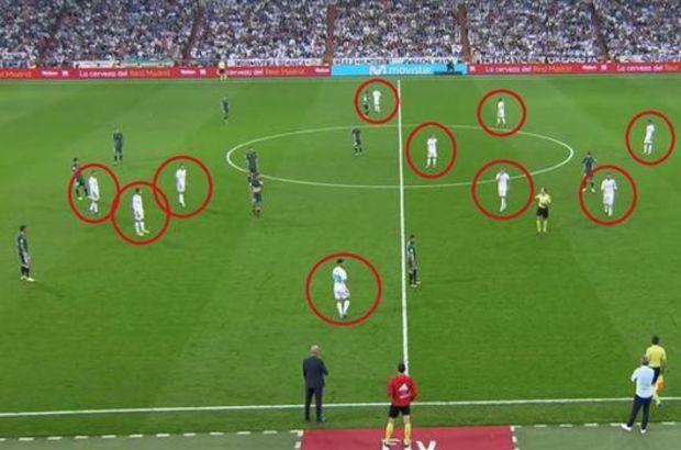 12 kişilik Real Madrid!