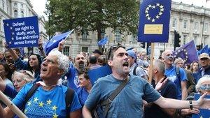 Birleşik Krallık'ta Brexit anketi: AB'de kalalım