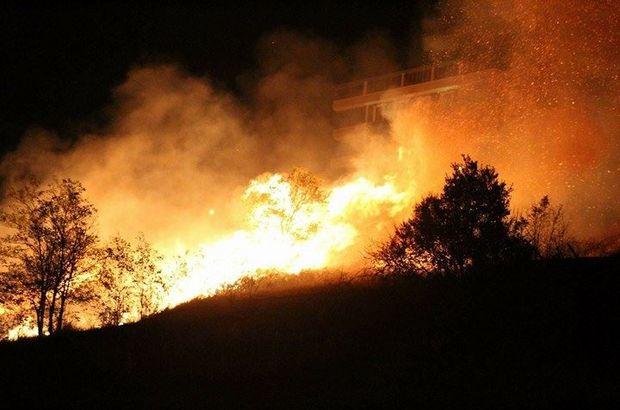 Samsun'da yangın - Samsun'daki anız yangını korkuttu