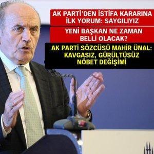 İBB BAŞKANI KADİR TOPBAŞ İSTİFA ETTİ!