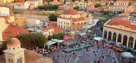 Monastiraki, Atina'nın son yıllarda hızla değişen tarihi semti
