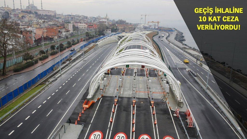 Mahkemeden Avrasya Tüneli cezasına 'Dur' kararı