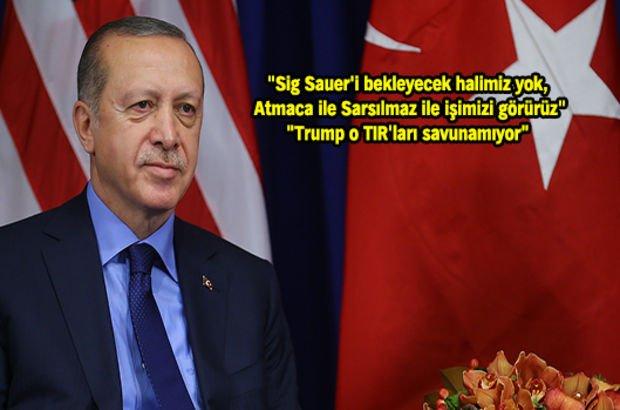 Erdoğan: Barzani'ye ne ABD ne Rusya bizim gibi yardım etti, kadir kıymet bilmiyorlar