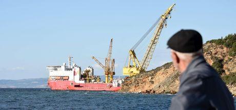 TANAP'ın 19 kilometrelik Marmara Denizi geçişi çalışmaları başladı