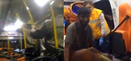 Zonguldak'ta işten çıkan madenciler 'koltuklar kirlenmesin' diye ayakta seyahat etti