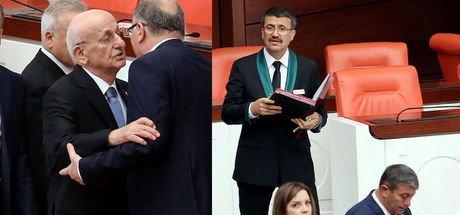 Meclis Başkanı İsmail Kahraman frak giymedi