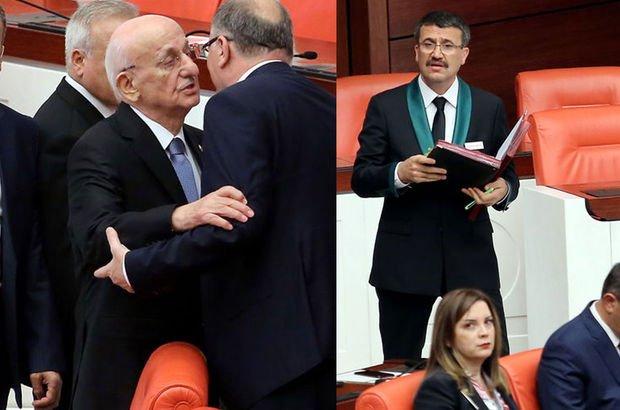 Meclis'te bir ilk!