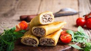 Kıymalı krep börek nasıl yapılır? Kıymalı krep börek tarifi ve malzemeleri...