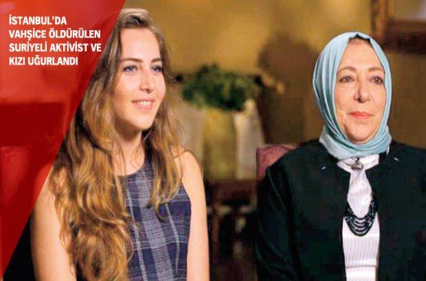 Orouba Barakat   Üsküdar İstanbul Suriyeli muhalif aktivistler