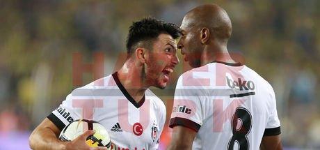 Beşiktaşlı futbolcular Tolgay Arslan ve Ryan Babel tartıştı!