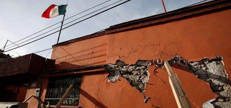 Meksika'da 5,9 şiddetinde deprem