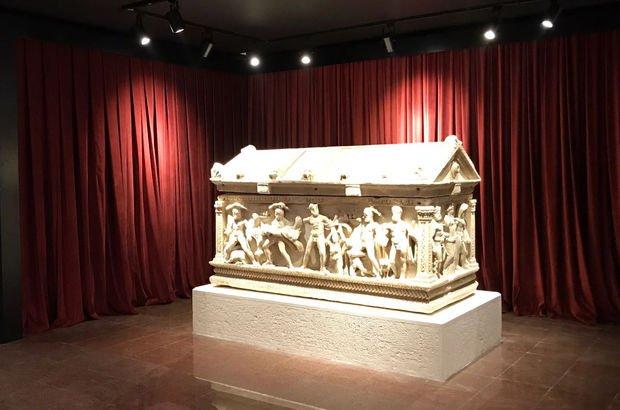 Herakles Lahdi 57 yıl sonra evinde! Törenle ziyarete açıldı