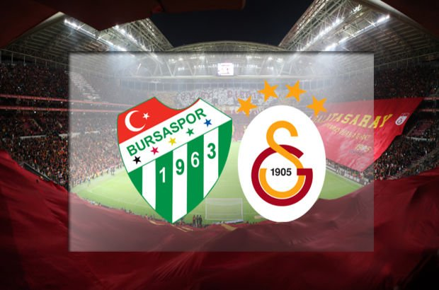 Bursaspor'un konuğu Galatasaray