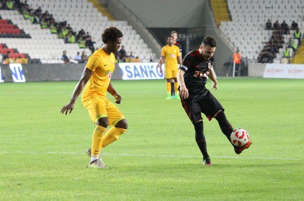 Gazişehir Gaziantep: 2 - Eskişehirspor: 2