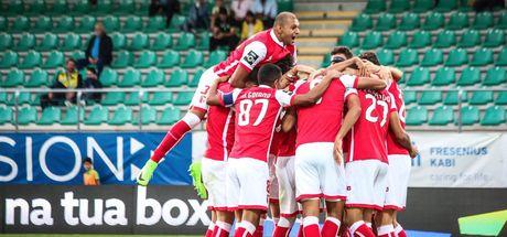 Tondela: 1 - Braga: 2