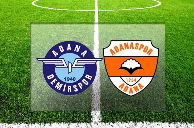 TFF 1. Lig kapanış maçında Adana derbisi