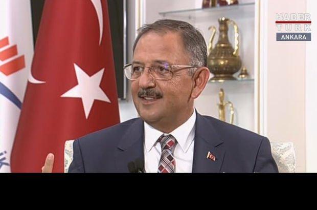 Bakan Mehmet Özhaseki 'Sıfır Atık Projesi'ni anlattı