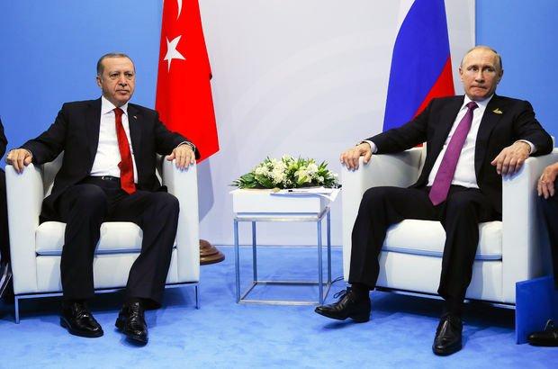 Cumhurbaşkanı Erdoğan, Putin ile Irak ve Suriye'yi görüştü!