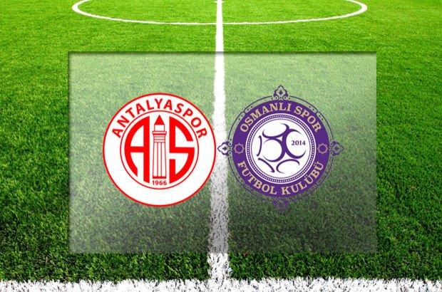 Antalyaspor - Osmanlıspor