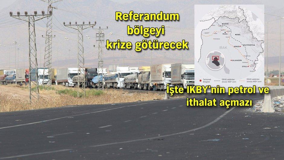 Barzani asıl 'ekonomik ablukayı' oyluyor