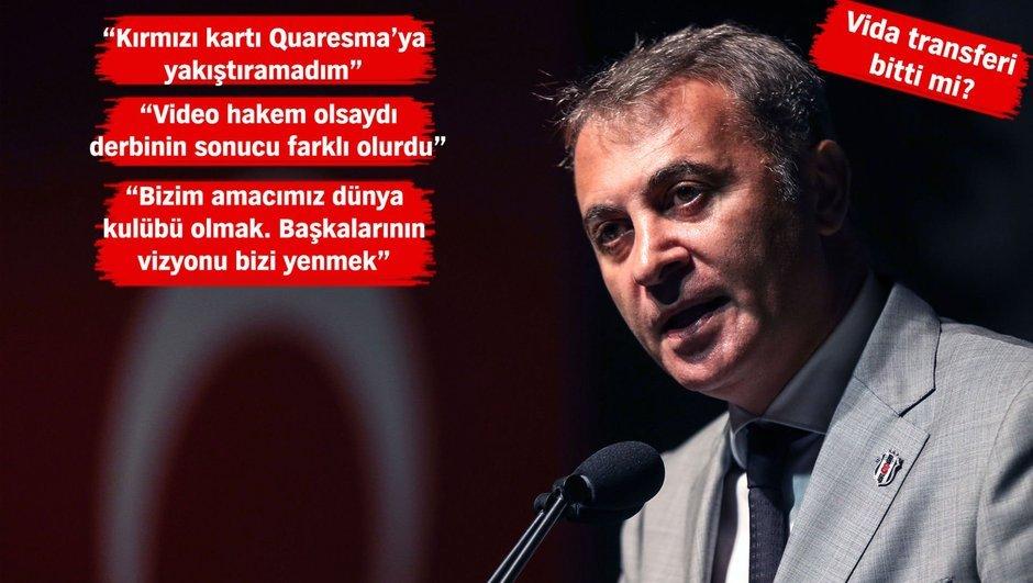 """Fikret Orman: """"Beşiktaş'a karşı güç birliği..."""""""