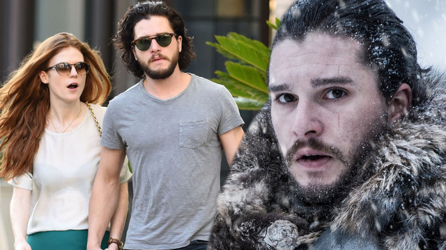 Kit Harington ile Rose Leslie evleniyor
