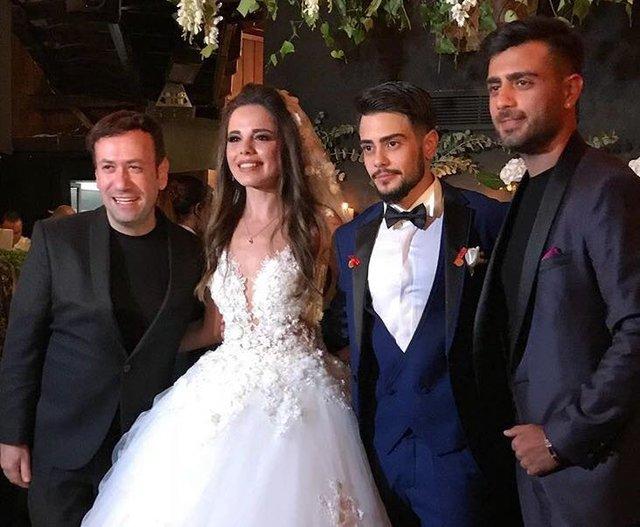 Rüzgar Erkoçlar ile Tuğba Beyazoğlu evlendi! İşte Rüzgar Erkoçlar'ın düğünü!