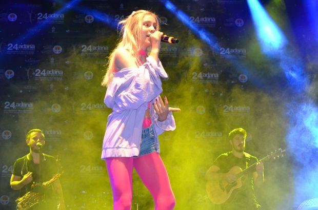Aleyna Tilki Adana konserinde sahneyi terk etti