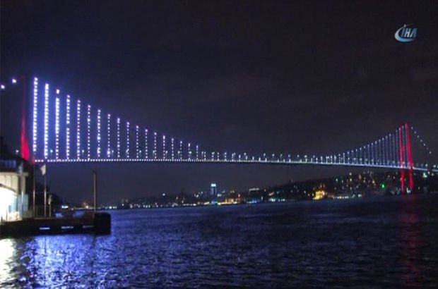 Ekiplerin ikna edemediği şahıs 15 Temmuz Şehitler Köprüsü'nden atlayarak intihar etti