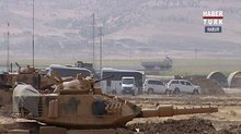 Irak askerleri tatbikat alanında