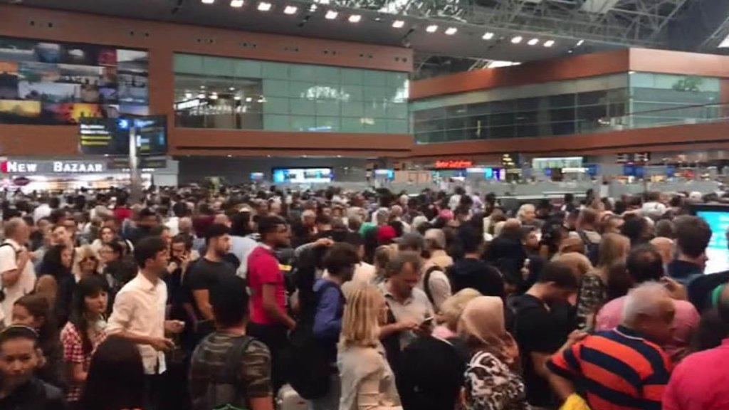 Sabiha Gökçen Havalimanı'nda arıza