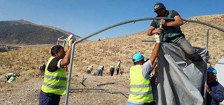 Dinar'daki tarihi Roma tiyatrosu için kazı çalışması başlıyor