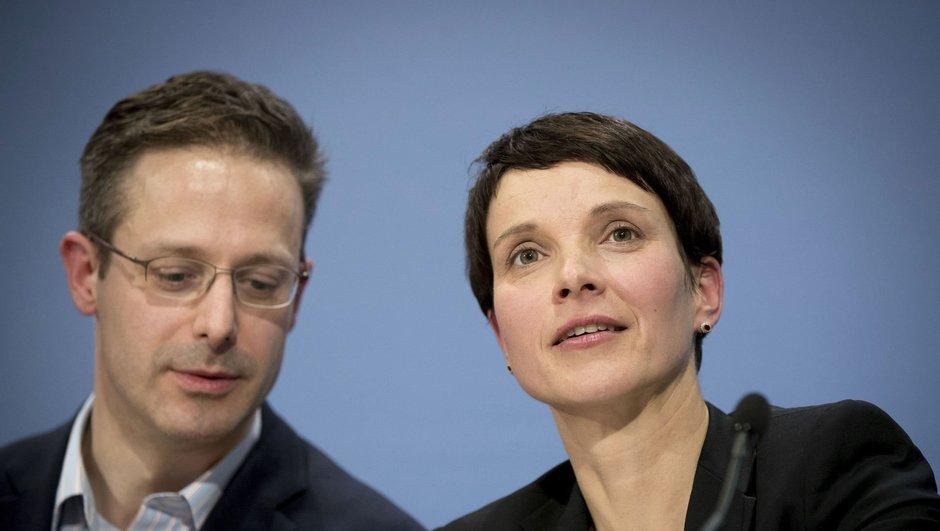 AfD Partisi Eş Başkanı Frauke Petry'nin eşi Marcus Pretzell'in partiden ayrılacağı söylendi