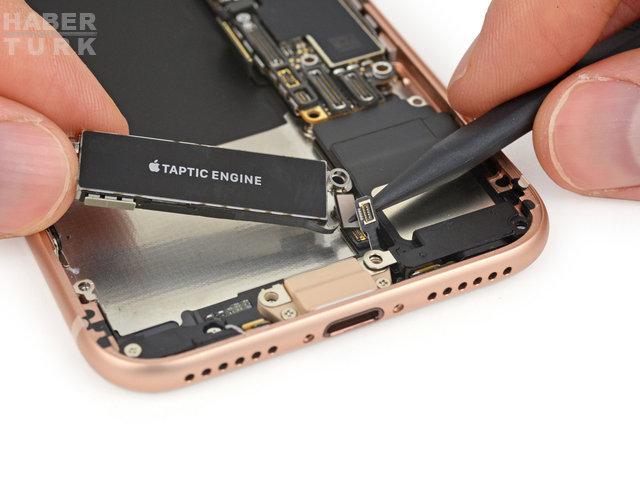 iPhone 8'in içinde ne var? Yeni telefonun içini açtılar, tüm parça listesi ortaya çıktı!