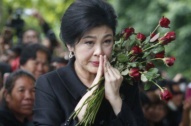 Tayland'ın devrik Başbakanı Yingluck Shinawatra'ya 5 yıl hapis cezası!