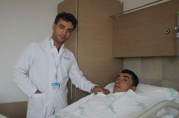 Konya'da İbrahim Şimşek isimli hastanın bacağından alınan doku gözlerinin açılmasını sağladı!
