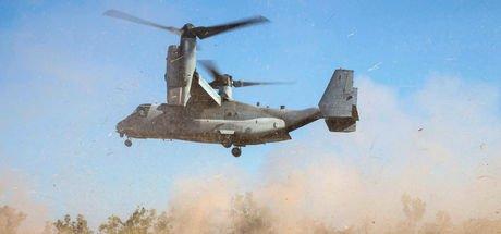 ABD askeri uçağı Suriye'de sert iniş yaptı:  2 yaralı!