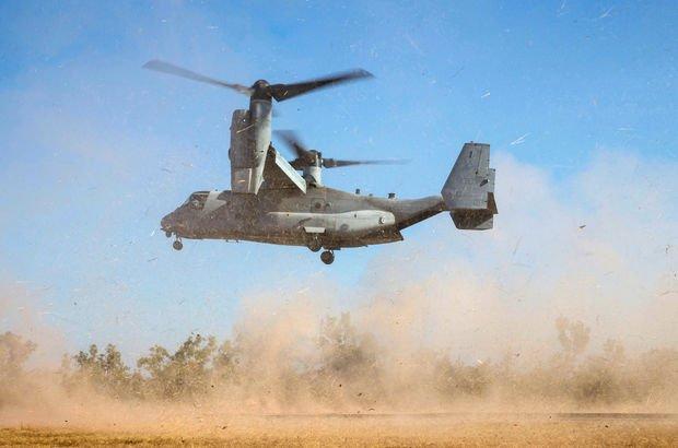ABD askeri uçağı Suriye'de düştü!