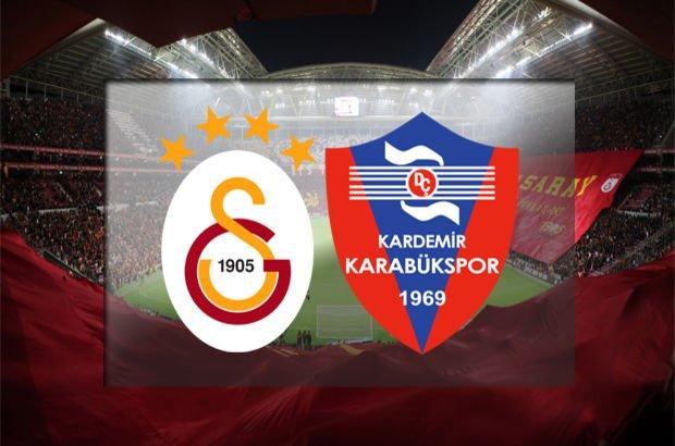 Lider Galatasaray, Karabükspor'u ağırlıyor