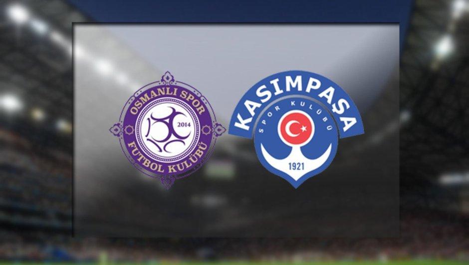 Osmanlıspor - Kasımpaşa