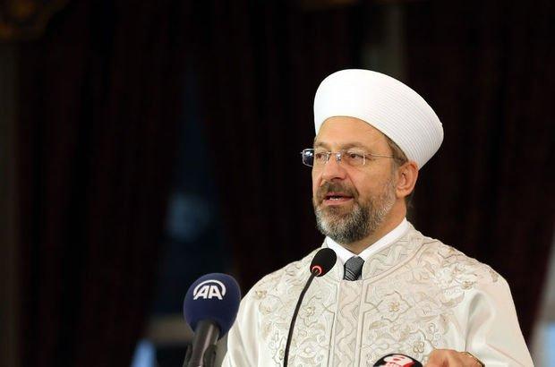 Diyanet İşleri Başkanı Ali Erbaş'tan cami açıklaması