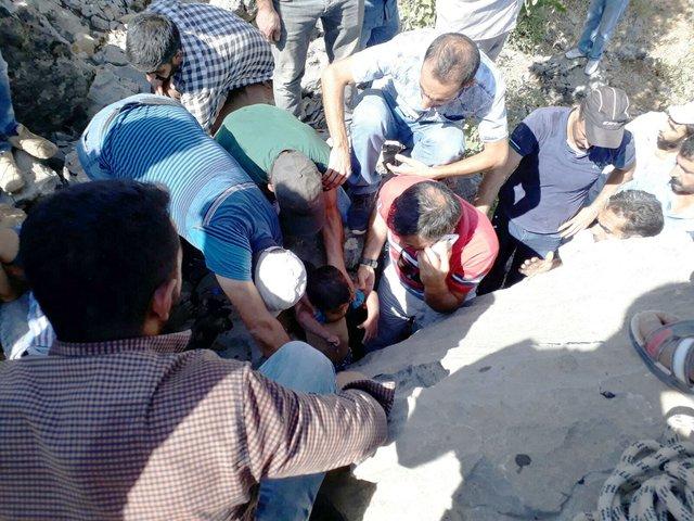 Elazığ'da Fırat Yıldırım'ın mucize kurtuluşu